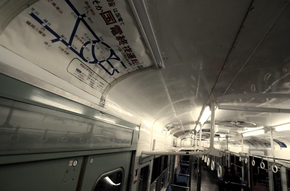 夜行列車。