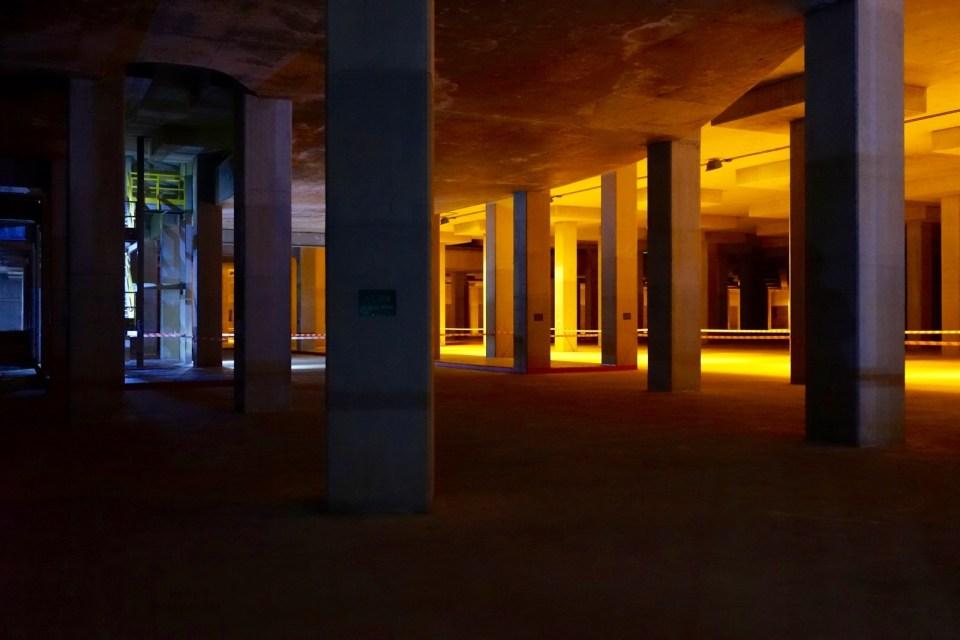 「地下宮殿」大坑東蓄洪池