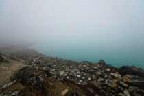 第三個湖 Gokyo Tsho。天公不造美,又是得幾米能見度。