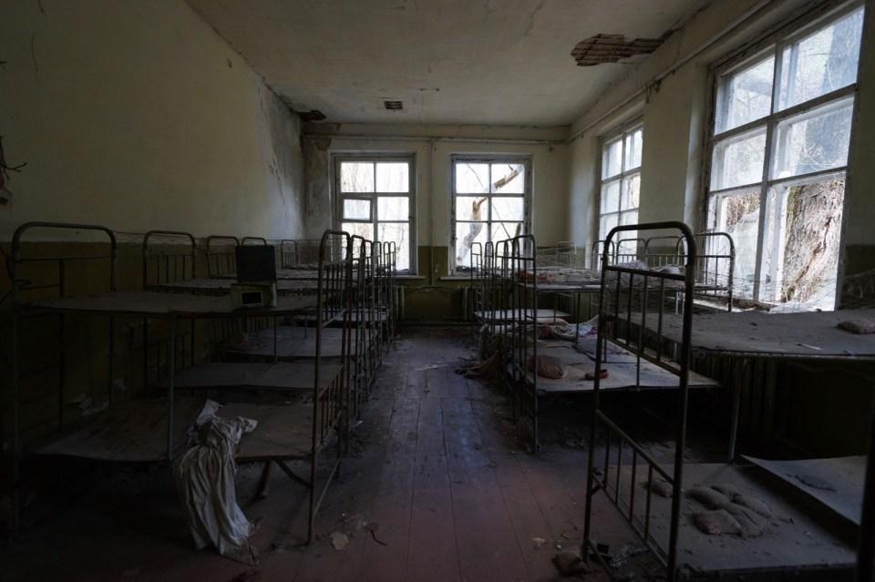 為甚麼幼稚園會有床位?難道是寄宿嗎?原來是給學生午睡的。