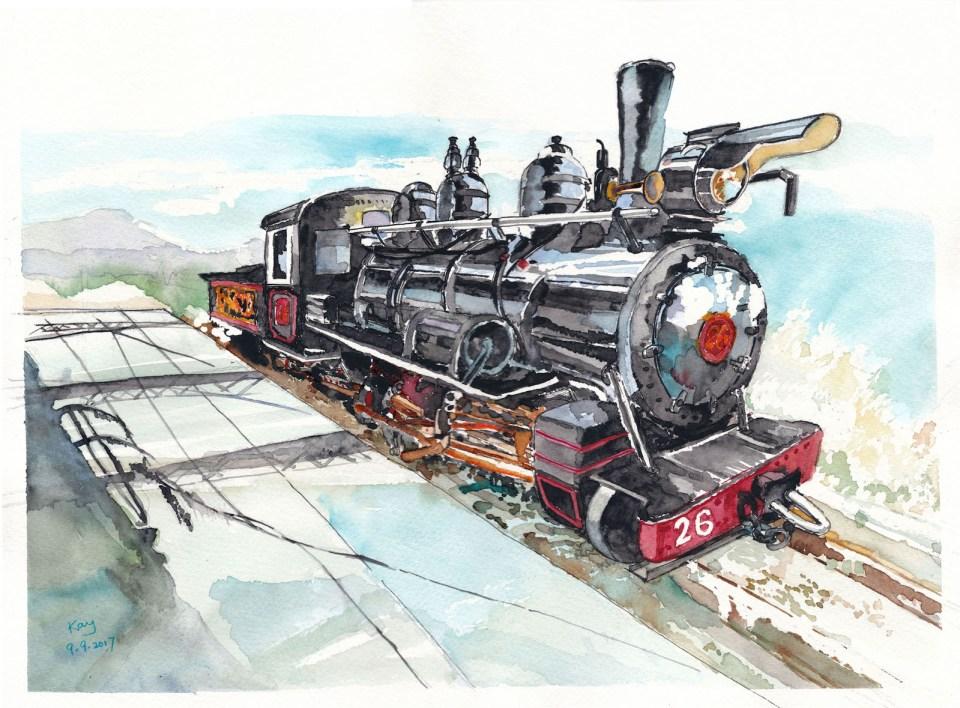 窄軌蒸汽火車頭 SN26