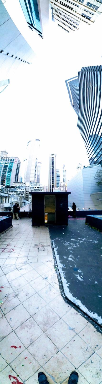 銅鑼灣藍天台