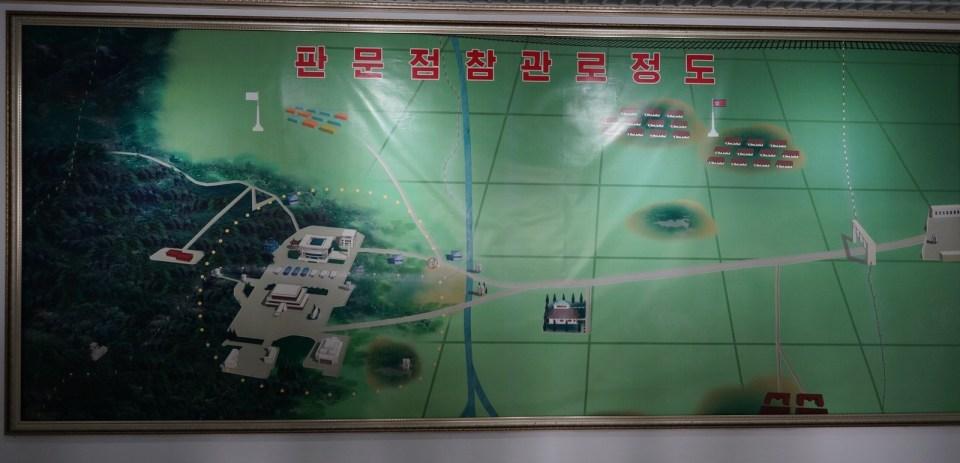 中俄朝遊(7)三八軍事分界線