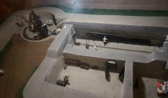 從 Vladivostok Fortress 展館的模型可了解炮台運作和構造。