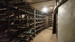 三層結構內有存放炮彈倉庫。