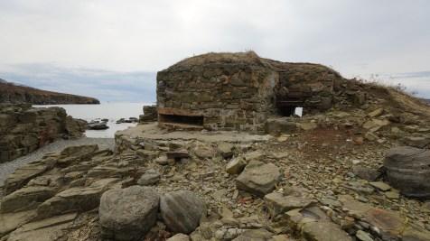 海邊廢堡 Mys Tobizina。