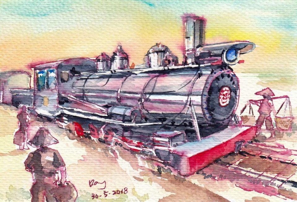 《窄軌蒸汽火車頭 SN23》