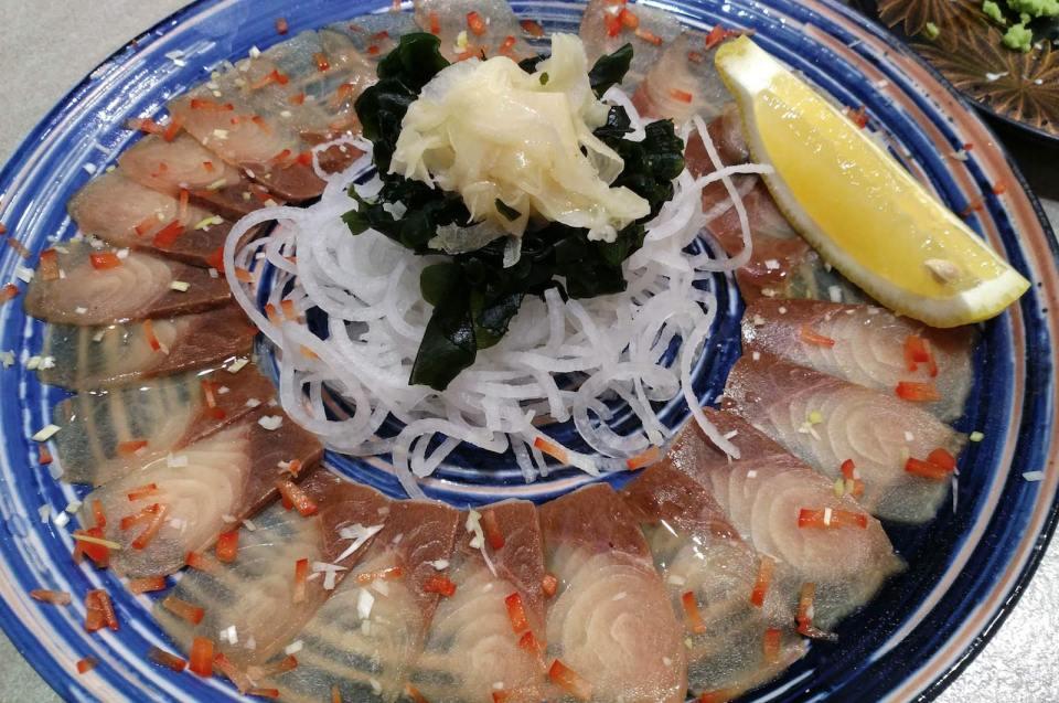 日本菜已成為當地飲食。