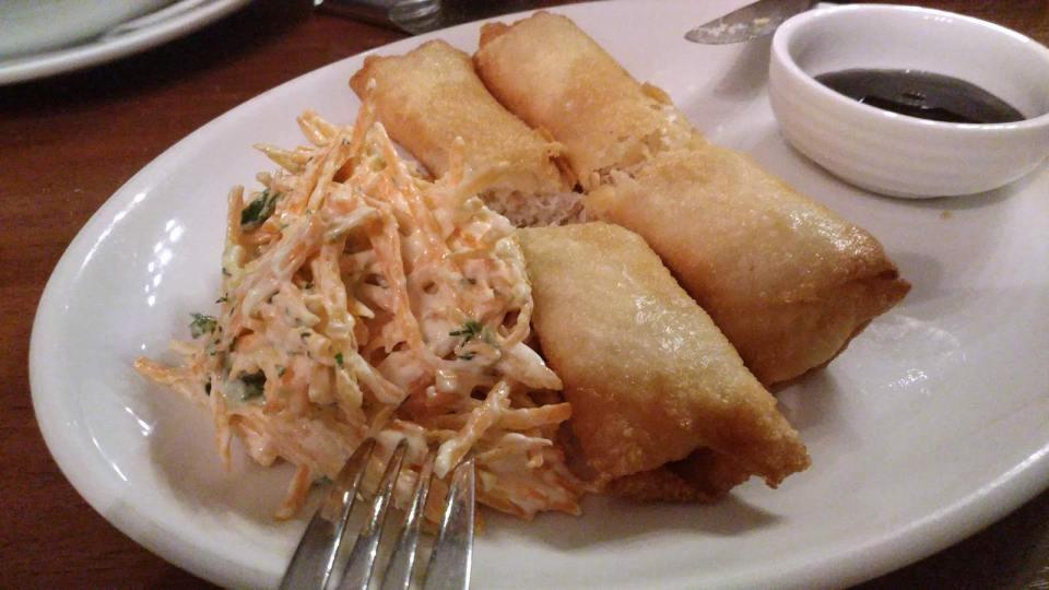 俄羅斯菜也有以蟹腳肉做的菜式。