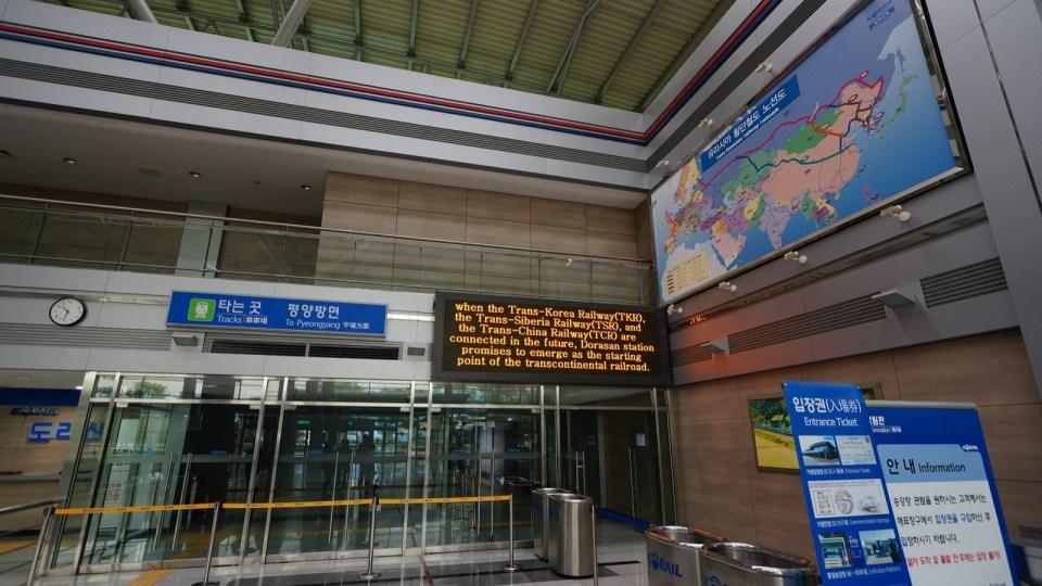 亦由於鐵路停運,令南韓成為少數「不能以鐵路(及公路)連接世界的大陸國家」。