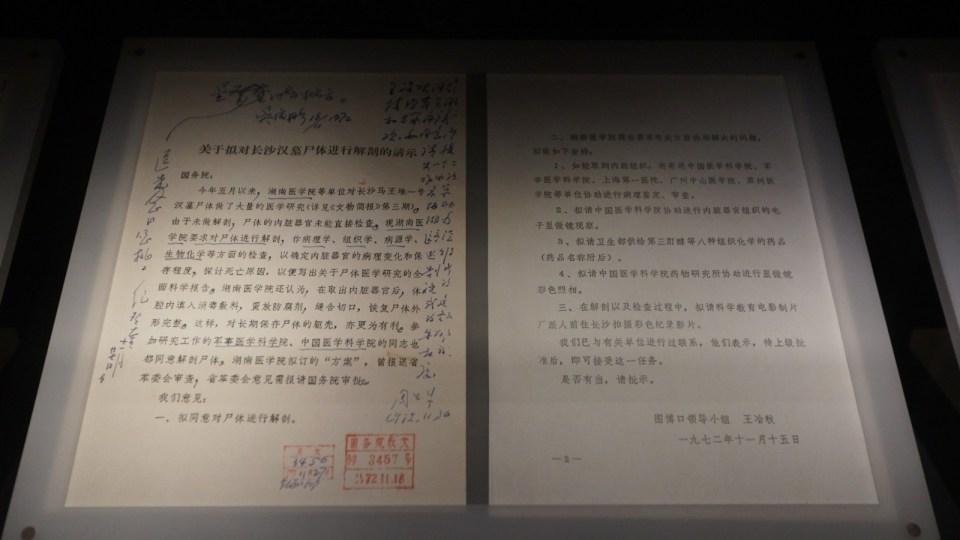 向國務院要求的項目,都記錄在《馬王堆漢墓》影片裏。