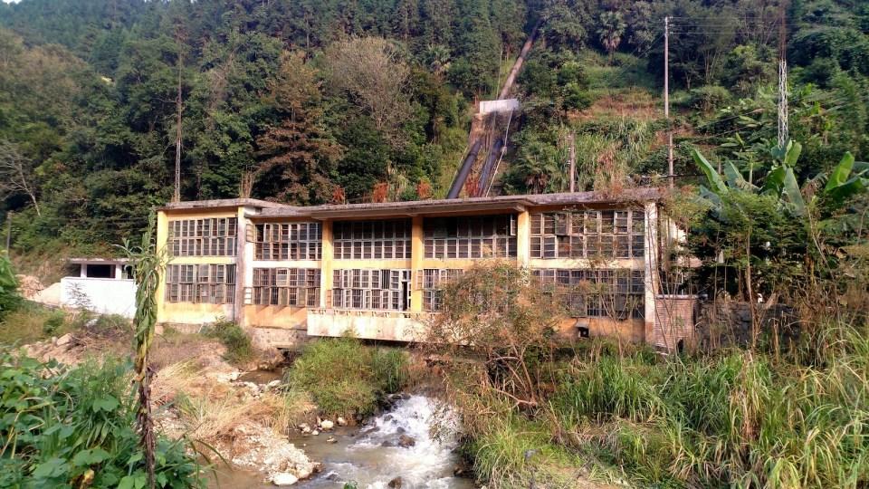 水源村水力發電站。