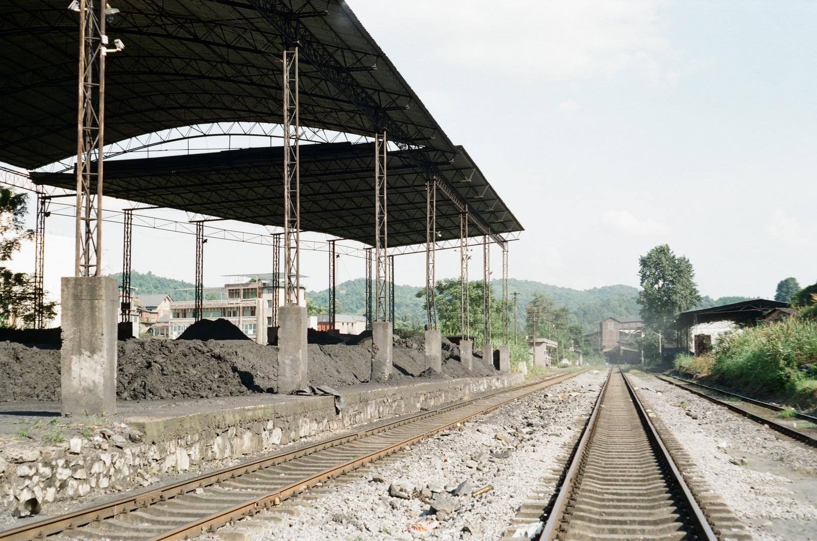 伍家沖煤礦 — 60 年代監獄礦場的生活區