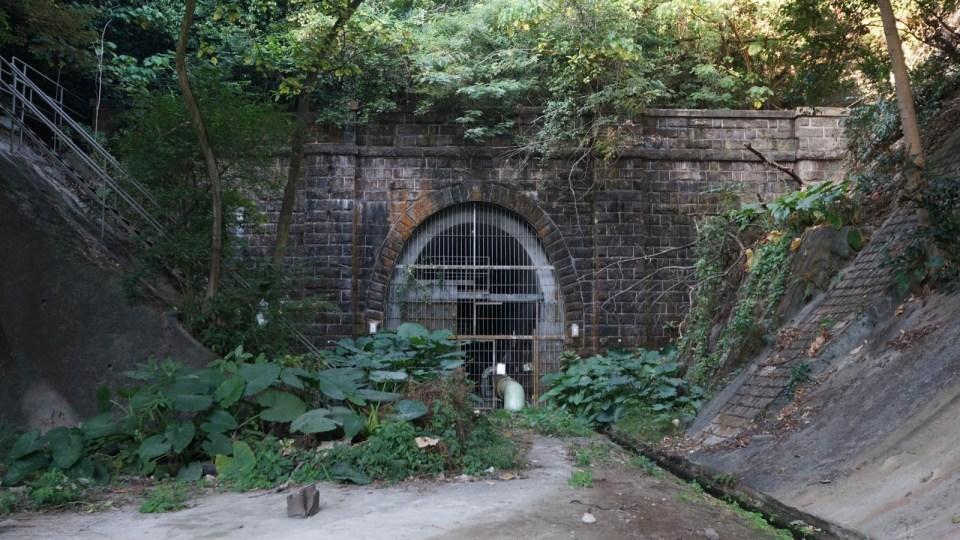 【新舊對照】九廣鐵路舊畢架山隧道