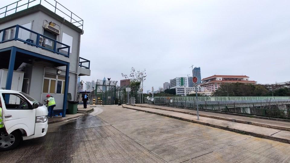 片段在得月樓警崗前空地拍攝。