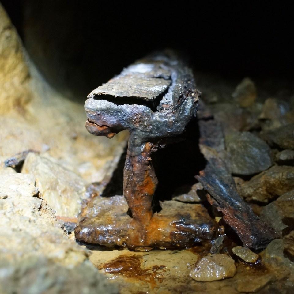 蓮麻坑礦場 Level 5:看「礦柱回採」、Old School 木頭氣井和佔地最大的礦層