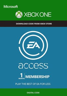 EA Access Pass Code 1 month TRIAL Xbox Live Key GLOBAL