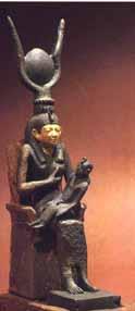Isis y Horus niño