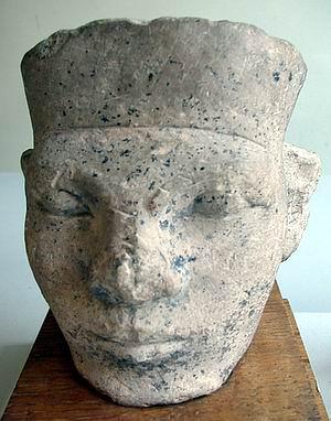 Posible cabeza del rey Narmer - Museo Petrie UC 15989 -