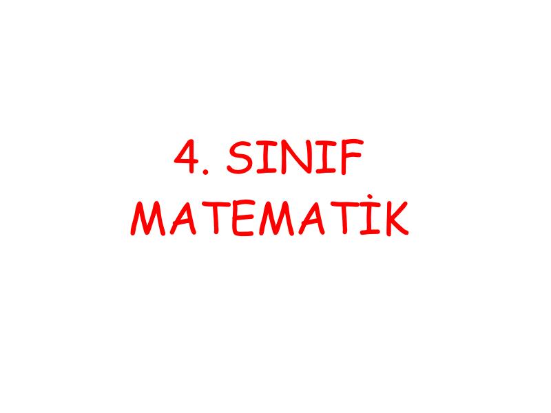 4 Sınıf Yakın çağ Yayınları Matematik Ders Kitabı Cevapları