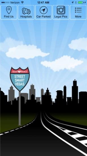 Street Smart Vegas App