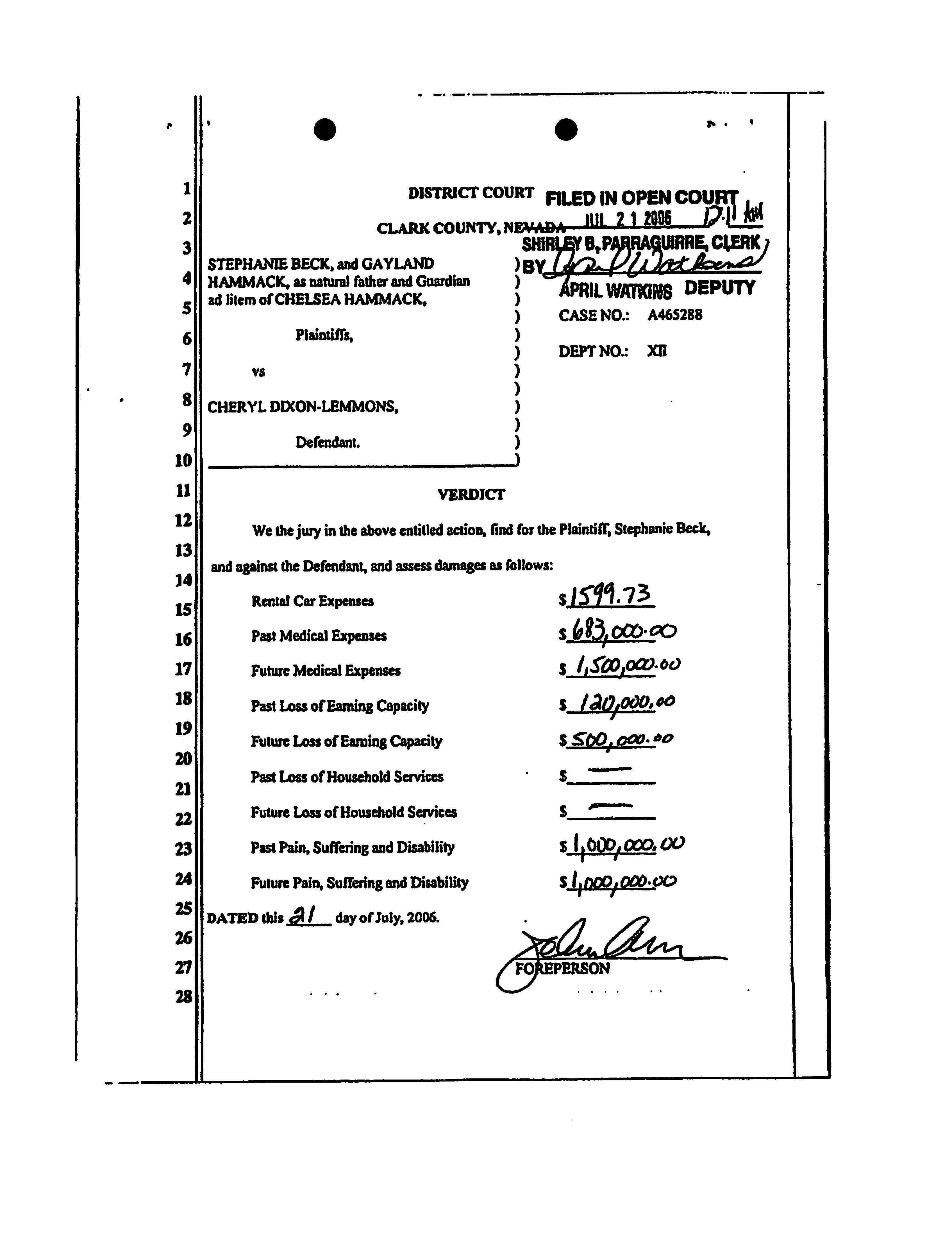 Verdicts and Settlements | Eglet Adams | Law Firm Las Vegas