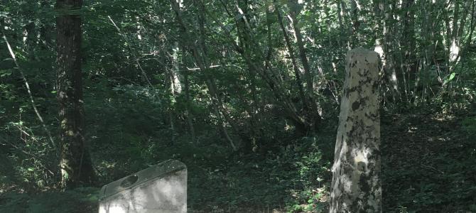La stèle protestante – La Combe des Loges