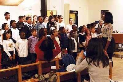 fondation Jonas charity à l'Eglise protestante de Soho
