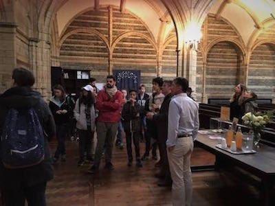 French prostestant church visits