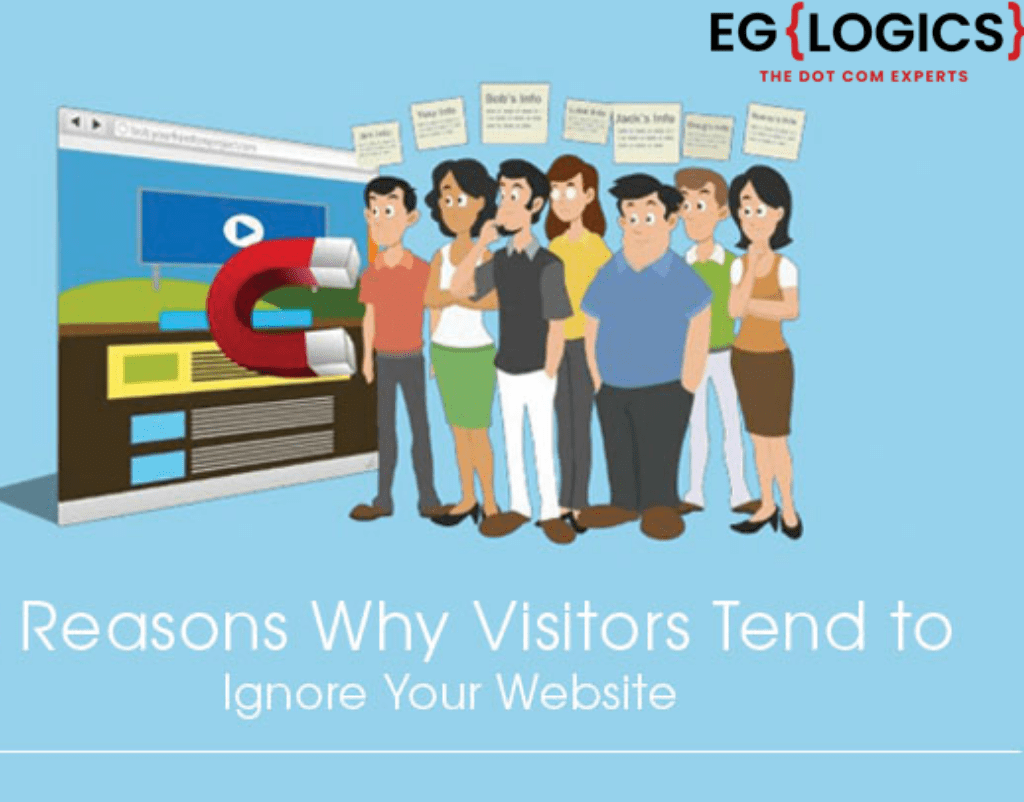 Why Visitors Tend to Ignore Your Website