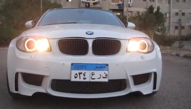 Video: Egyptian builds his very own BMW 1 Series M out of 120d, swaps engine for M3's V8
