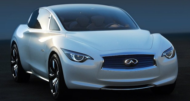 Report: Infiniti's new Nissan LEAF-based EV to showcase new wireless induction charging for the battery