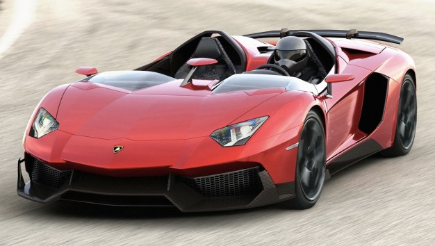 Lamborghini Aventador J unveiled, will be produced and sold