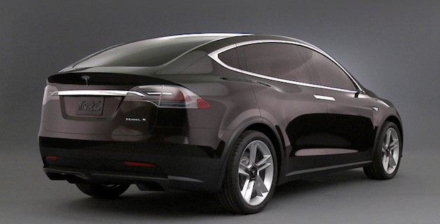 Tesla Model X geared toward women and 'six of her friends'