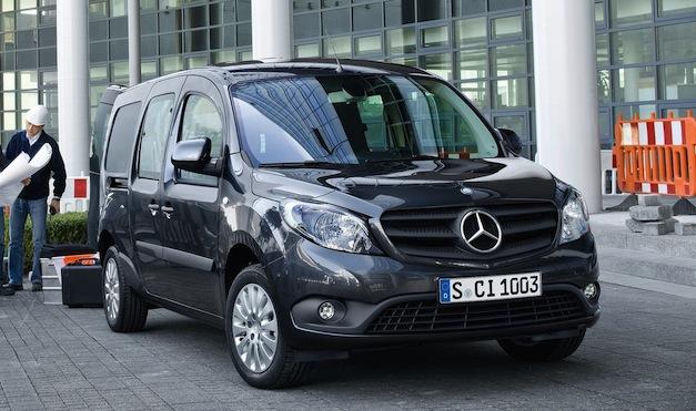 Mercedes-Benz unveils smaller Citan van for those in Europe's congested cities