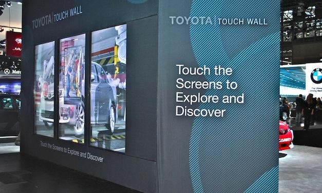 2012 New York: Toyota Display