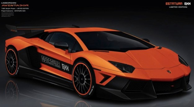Lamborghini Aventador Estatura GXX by German Special Customs is a mean looking bull