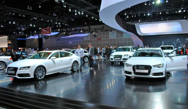 2012 LA: Audi A8, A6, A7 and Q5 get TDI variants for the States