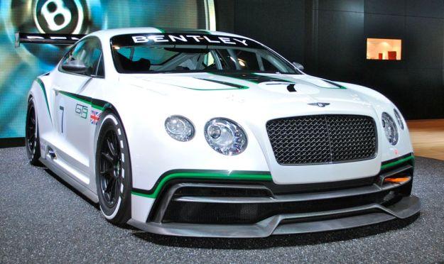 2012 LA: Bentley Continental GT3 Race Car concept comes to the U.S.