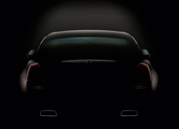 Rolls-Royce teases 2014 Wraith Coupe again ahead of Geneva