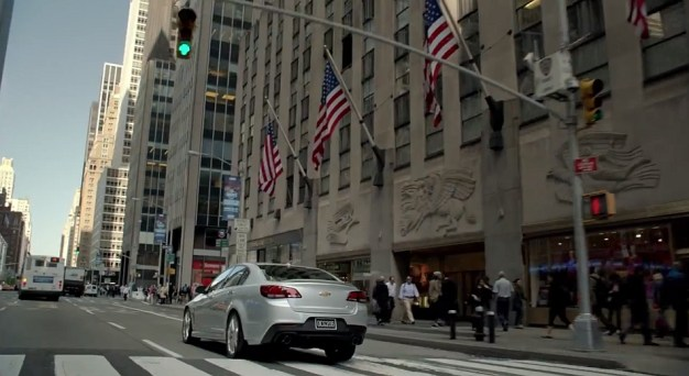 Video: Watch some brief 2013 Chevrolet SS in some new TV ad spots for its blood cousin
