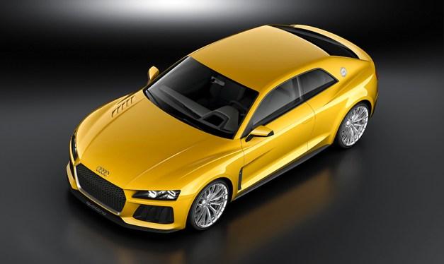 Audi reveals Sport quattro coupe Concept ahead of its debut at Frankfurt