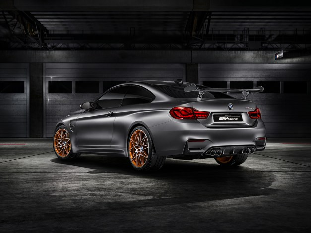 2015 Pebble Beach: The BMW M4 GTS Concept previews a track-focused version of the M4