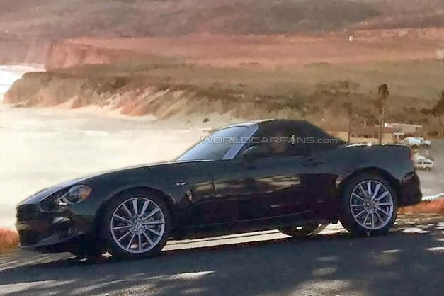 Spy Shots: Oh hello 2017 Fiat 124 Spider, we see you