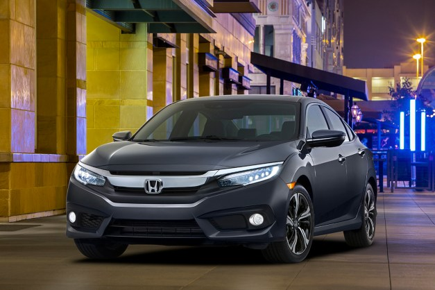 The 2016 Honda Civic sedan revealed to be the best looking Civic ever
