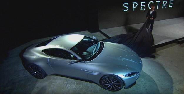 Video: Watch Aston Martin go behind the scenes with Spectre
