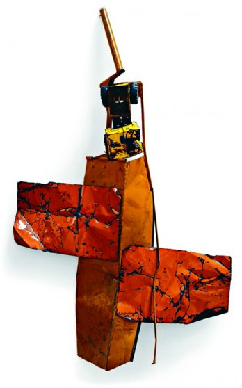 Blood Orange Summer Glut, 1987_Estate of the Rauschenberg_Dorothy Zeidman