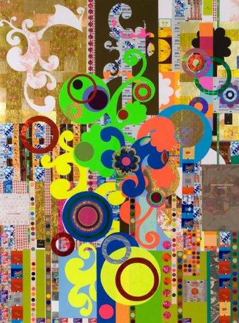 Beatriz Milhazes/Yogurt, 2008