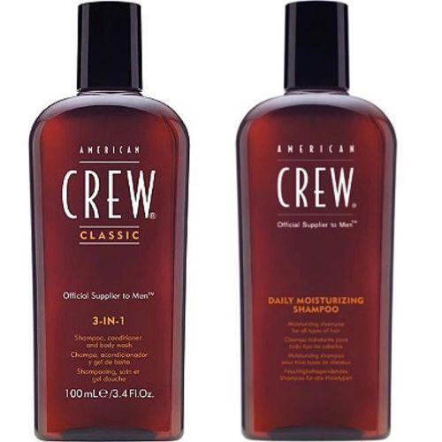 För alla herrar som skall ut och resa! Nu finns favoriterna Crew Moisturizing Shampoo och 3-in-1 tillgängliga i 100ml flaskor. 1 för 79:- eller 2 för 99:- ️