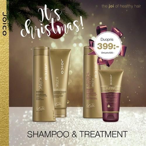 Julkampanjerna från JOICO är här!Perfekt julklapp till nära och kära eller till dig själv.